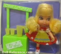 Mattel Little Kiddle 3752 Lemons Striddle doll 1968