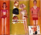 863 Fashion Queen Barbie and Friends Gift Set 1964