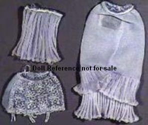 Barbie doll 919 Fashion Undergarments 1959-1962