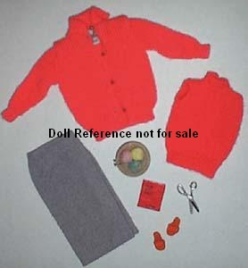 Barbie doll 976 Sweater Girl 1959-1962