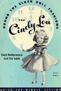1950s Richwood Cindy Lou doll Booklet cover