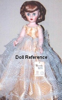 1960s Allied Grand Bonnie Miss doll 18""