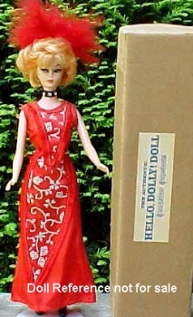 1960-1961 Allied Grand Hello Dolly doll 11 1/2""