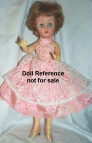 1960s Allied Grand Teenage Fashion Dolls 15""