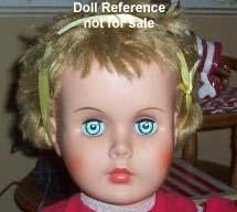 1960s Allied Grand Patty Playpal type doll 36""