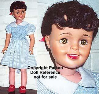 1961 Natural Angela Cartwright doll, 30""