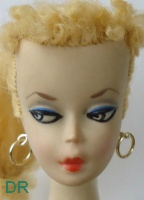 #1 Barbie doll 1959 by Mattel