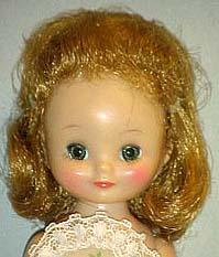 1957 American Character Betsy Mccall doll face