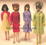 Barbie Goes Braniff airline hostess 1967 by Pucci