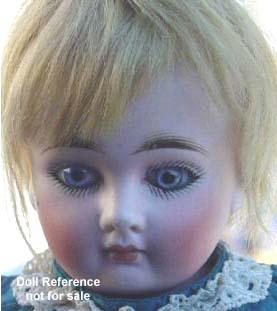 "Child doll 13"" tall - face"