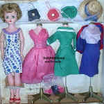 1958 Candy Fashion doll, 20""