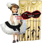 1958 Eegee My Fair Lady doll,  20""