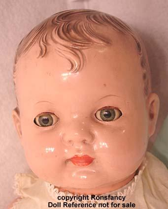 Vintage Cloth Baby Dolls With Plastic Face
