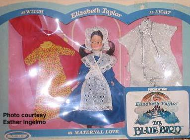 1976 Horsman Elizabeth Taylor doll, Blue Bird doll 11 1/2