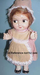 1920-1931 Gem Toy Chubby Kid doll, 12 1/2""