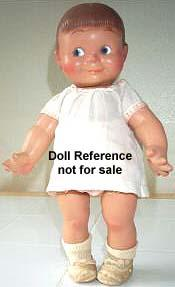 1946 Cameo Giggles doll, 15""