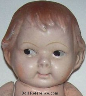 ca. 1910 Horsman Peterkin doll face