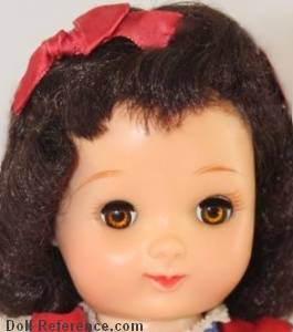 1951 Ideal Betsy McCall doll face