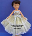 1957 Ideal Crown Princess doll, 10 3/4""