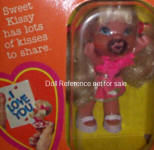 Ideal 1978 Kissy doll, 3""