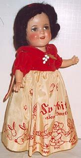 1938 Ideal Snow White doll 11""