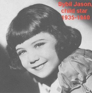 ca. 1937 Sybil Jason child actress star