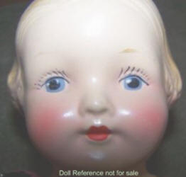 1920s Nibur Novelty Baby Doll, 12""