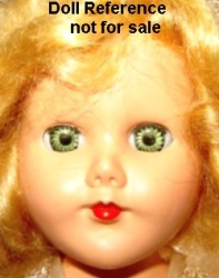 "PMA 1950s Bride doll 11"" tall"