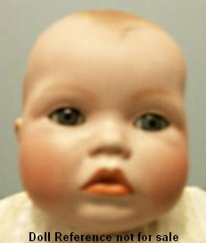 "1931 Babykins doll, 17"" by Grace Putnam"