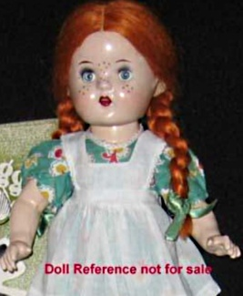 Reliable 1947 Maggie Muggins doll