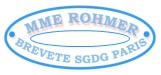 Mme. Rohmer kid body doll stamp, Mme Rohmer Brevete SGDG Paris