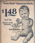 Sears 1916 Baby Ruth Character Dolls ad