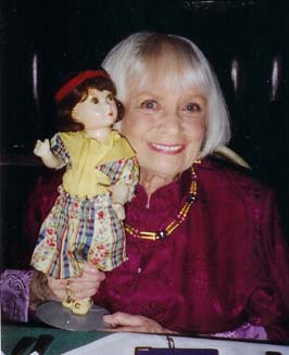 Sybil Jason autograph signing with her doll