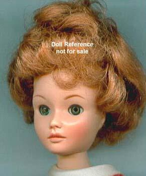 1962 Uneeda Wendy Ward doll head