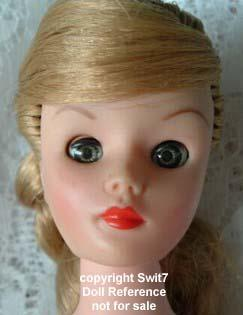 1962 Uneeda Wendy Ward doll face