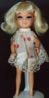 1967 Uneeda Beau Time doll 1967