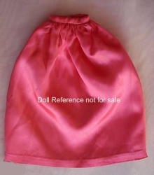 Pak Satin Long Full Skirt 1963