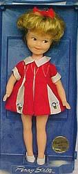 "1963 Deluxe Reading, Penny Brite doll 8"" tall"