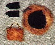Pak Fur hat purse and gloves 1963
