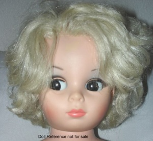 1966 Plated Molded Sales Glamour Girl or I am a Go Go Doll, 24""