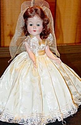50s Baby Doll Wedding Dress