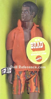 1142 Brad Doll Bendable Leg (1970-1972)