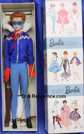 Barbie Ski Queen 1963 Dressed box doll