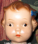1930s Jolly Joan Restaurant waitress doll face