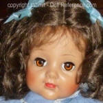 1952 Alexander Barbara Jane doll face