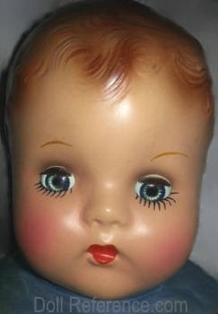 Madame Alexander Baby doll marked AX