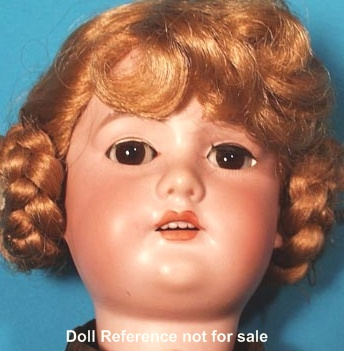 1900-1913 Borgfeldt Dolly Face doll, 24""