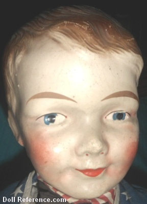 1918 Butler Brothers Uncle Sam doll 32""