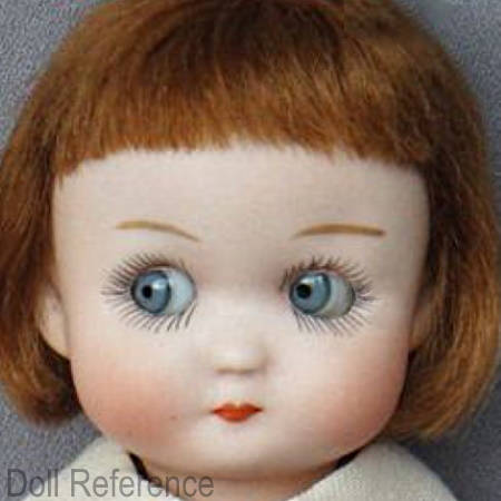 RARE Tiny Size Mouth Blown Antique French Glass Eyes for Bisque Head Small Doll