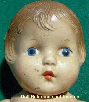 "1930's Horsman Sue look a like doll, 14"", Patsy type"